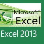 Descargar Excel 2013