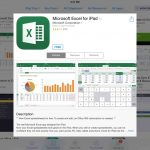 Excel para iPhone e iPad