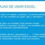 ventajas de usar Excel