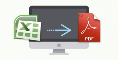 Convertir ficheros de Excel a PDF
