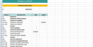 Plantillas para excel para llevar la contabilidad